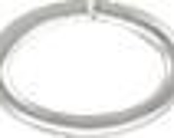 Sterling Silver Oval 20ga 3.6x5.5mm Open Jump Rings  - 100pcs (4467) 25% discounted Made in USA