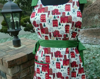 Christmas Apron - Full Coverage Smock Apron