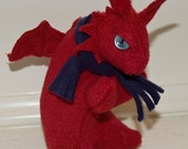 plush Smaug red dragon