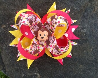 Monkey Boutique Resin Hairbow