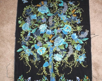 Tree of life wall quilt, approximate finished size will be 36x42