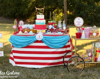 DIY Printable, Circus PARTY PACK
