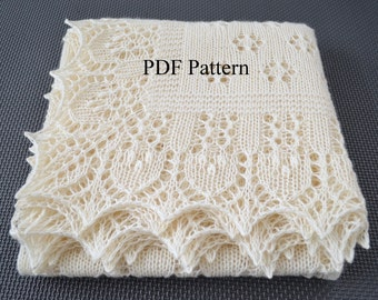 Crochet Patterns Christening Shawls : baby wrap pattern ? Etsy