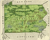 Map of Pennsylvania From ...