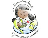 Greeting Card: Your story matters (dark)