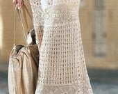 Crocheted Western / Boho Long Skirt - Made to Order
