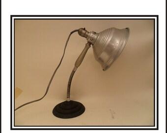Vintage Heat Lamp On Base