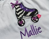 Roller Skate shirt for girls and toddlers