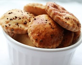 All natural dog treats-Liver Snap Dog Treats-organic dog cookies-liver dog treats-po's bag of bones bakery