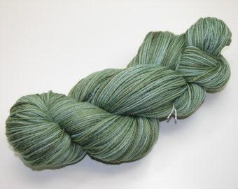 Silk  and Merino Hand Dyed Sock Yarn