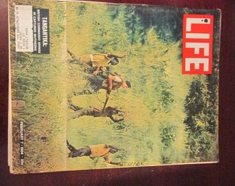 Collectible Life Magazine February 7, 1964 UK Forces in Tanganyika Cover Very Good Condition Great Ads