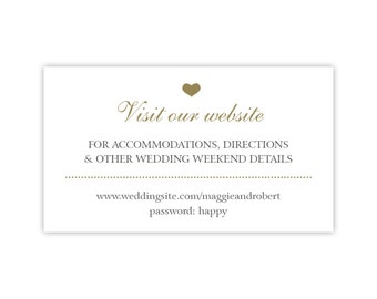 Wedding Gift List Cards : ... cards in white with gold heart wedding hashtag cards or gift registry