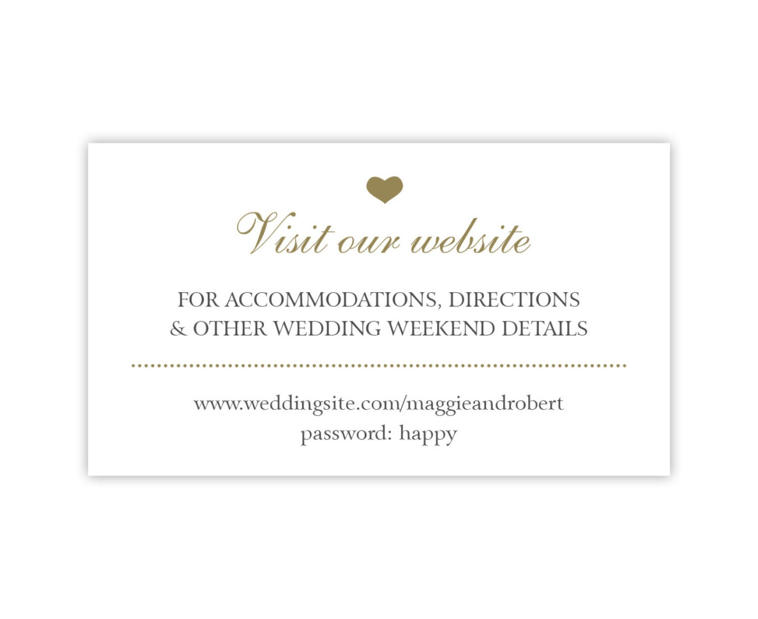 Wedding Website Insert Card Template Free Images Wedding - Gift registry card template free