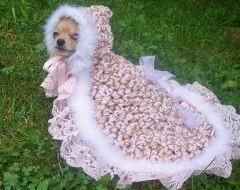 Dog Coat Crochet Pattern--------HOODED BLANKIE-------The AMAZING-----The Original------Hooded Blankie for Dogs