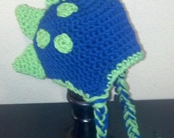 Blue Dino Hat
