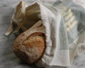Vintage Sugar Cotton Sack, Bread Bag, Produce Bag