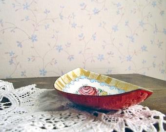 Vintage Enamel Dish