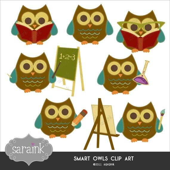 math owl clipart - photo #42