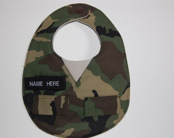 Camouflage Military Hunting Fatigues Camo Bib