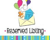 Reserved Listing for cmceaddy