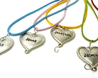 First Middle Names- Letter J - LOT 58 Pieces- Dog Pet Name Gift Tags-