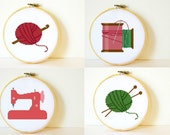 Counted Cross stitch Pattern Collection PDF. Crafters patterns. Instant download. Includes easy beginner instructions.