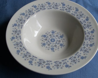 Vintage China Royal Doulton Galaxy Pattern Soup Bowl Wedding Gift Idea Special Occasion Holiday