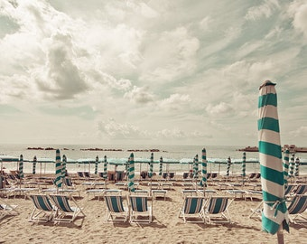 "Fine art photography, beach print, large art print - ""Italian Summer"""