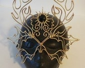 Bronze Horned God Mask