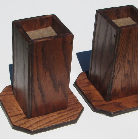 Items similar to furniture risers inch all wood