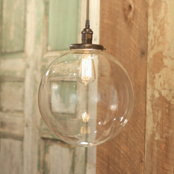 Chandelier Lighting With 12 Glass Globe Shade By Lucentlampworks