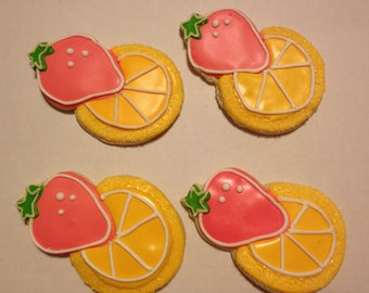Pink Lemonade Sugar Cookies