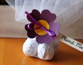Wedding Guest Mementos | Flower Wedding Favors | Seed bomb wedding favours | Plantable seed Favour | Customized to match your wedding colors