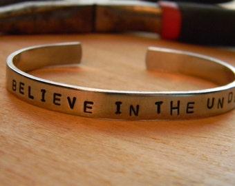 Believe In The Underdog