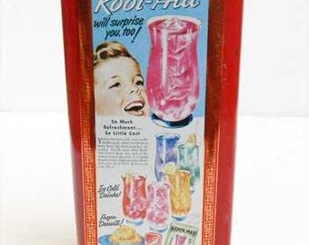 Vintage KOOL-AID Collectible Advertising Box U.K.