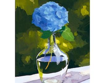 "5x7"" print - plant still life - ""Hydrangea"""