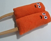 Perry and Poppy The Twin Popsicle - Squeaky Dog Toy