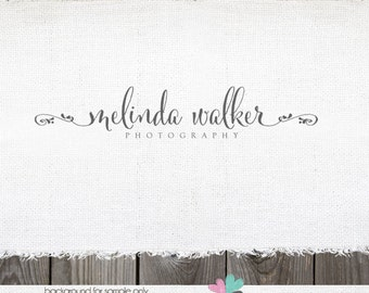 Logo Design | Heart Swirls Logo | Photography Logo | Photography Watermark | Logo for Photographer | Premade Logo Design | Logo Design logos