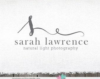 Logo Design - Photography Logo - premade logos - Initials logo - Logo Design- romantic logo for photographer - logos and watermarks - logos