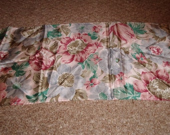 vintage head neck scarf silk echo