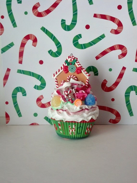 Gingerbread Man House and Candy Fake by FakeCupcakeCreations