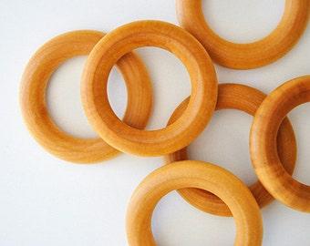 Replacement Teething Ring, Maple Teething Ring, Organic Teething Ring, Wooden Teething Ring