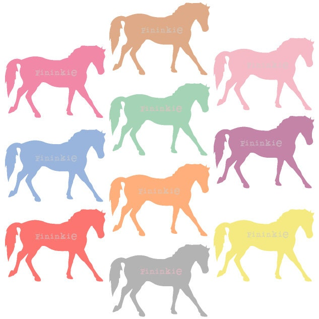 Clip Art Pony Clipart pony clipart etsy clip art digital horse pastel scrapbooking instant download commercial use png jpg