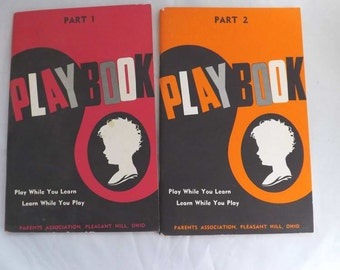 Vintage Booklet Play Book Ray C Beery Parts 1 and 2 hard to find vintage