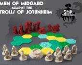 Pocket-Tactics: Saga of the Nine Worlds, 3D printed board game