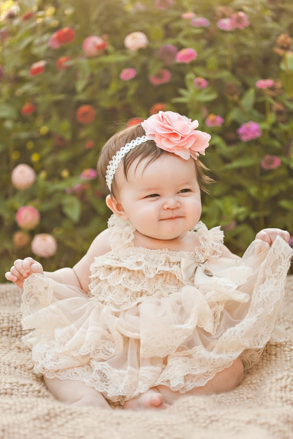 Flower Girl Dress Lace Flower girl dress Baby Lace Dress