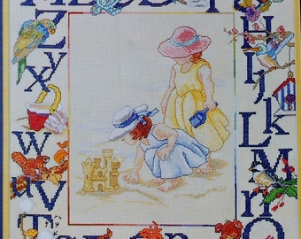 Licia Lewis FAVORITE THINGS From A-Z Sampler - Counted Cross Stitch Pattern Chart - fam
