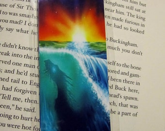 Dragon in the Waves Bookmark