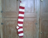 Made to Order Handknit Wool Christmas Stocking