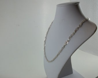 "18"" Braided Sterling Silver Chain"